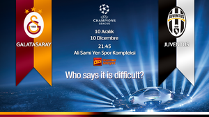 Galatasaray - Juventus   Champions League by seloyxx