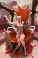 bloodythrone by Enaxor