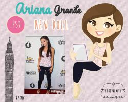 Ariana Grande Doll by AbbeyDenith