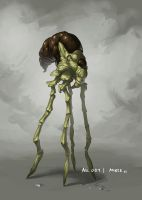 Monster No. 051 by Onehundred-Monsters