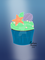 TLM Cupcake Design by ColorfulArtist86