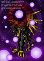 The Ancient Warrior of Darkness by Galistar07water