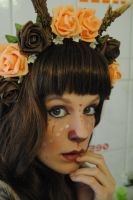 Faun Girl 01 by KittyTheCat-Stock