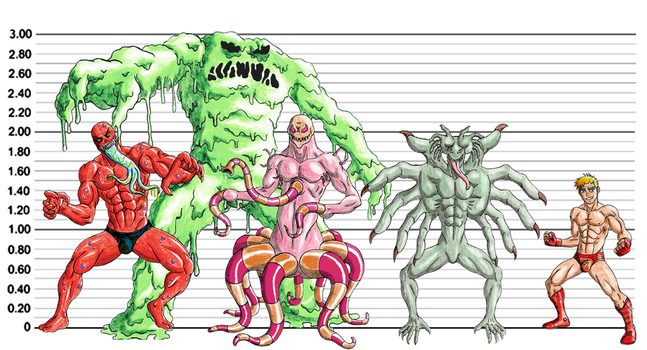 Red Ray Size Comparison by 09tuf