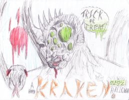 Have a very Kracken Hallowen! by Demonbane775