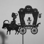Fortune teller - Shadow Puppet by PaperTales