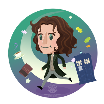 Day 232 - the eighth doctor by salvadorkatz