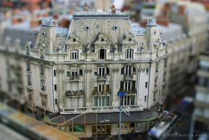 Tilt Shift VII - Lausanne by b4silio