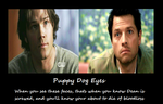 Motivational Poster: Puppy Dog Eyes by KissyMissy-Tainted-K
