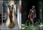 Chemical Man Before and After by jadey-babey
