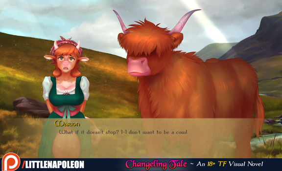Changeling Tale Screenshot - Milk Maid Marion by LittleNapoleon0