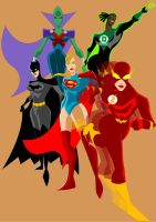 She-JLA Color by Apollorising