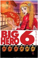 BIG HERO 6 No. 2 Cover by DNA-1