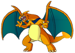 Alex the Charizard by CrisPokeFan