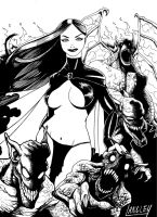Goblin Queen by LangleyEffect