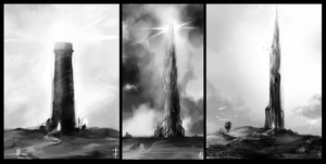 the dark tower by LudvikSKP