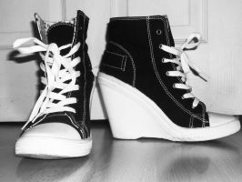 Dont you wish Ur shoes are cool like mine by RhythmOfTheNight