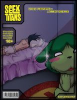 TeenTitans Cover FINAL by ujinko