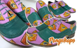All Seeing Eye Brogues by ponychops