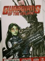 Another Guardians Sketch Cover by SerenaGuerra