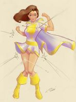 Mary Marvel by jFury