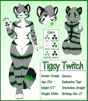 Tigs Reference Sheet 4.0 by TwitchyTigs
