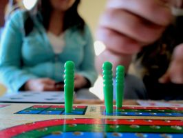 Cribbage Game by screamingoldwoman