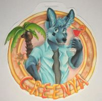 Badge for GreeNya by TahvoDerWeisseWolf