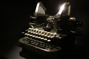 Oliver Typewriter No. 5 by lordmaky01