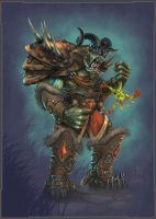 Orc Tauren Hybrid by Miggs69