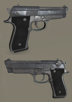 beretta M9 by t17dr
