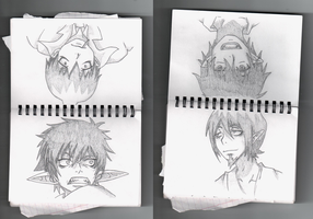 My Sketch Book by NarutoLover6219