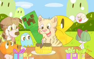 The Picture of Pictureness (aka Happy Bday Joel) by DogFwish