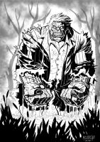 Solomon Grundy inks by terrymelanconjr