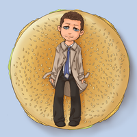 Cas' Burger by veggiecake