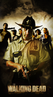 The Walking Dead Poster by Mrsheloner