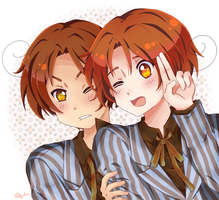 APH Italy brothers by Patynotchan