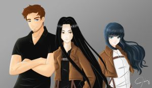GIFT!!! OUR SNK OCS (art by Frappe7) by galateabellator