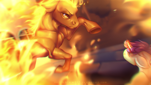 COMM: Burn this place to the ground by ScribbleWoof