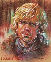 TYRION LANNISTER by ermitanyongpalits
