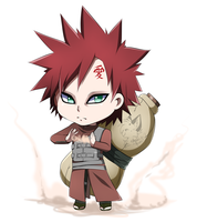C: Gaara by CrowzPerch