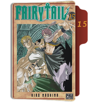 fairy Tail Tome 15 Folder by sostomate9