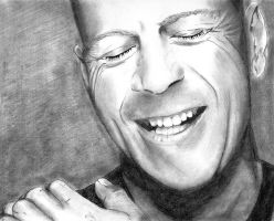 Bruce Willis by kdub