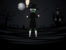 |31 Days of Horror| Day 25, Witch by MechaSamurai