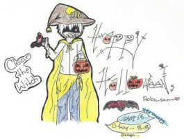 DMMD's Happy Halloween: Clear the Witch by CakesGoSupernova