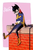 NEW Batgirl by Y0KO