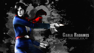 Carla Radames wallpaper by VickyxRedfield