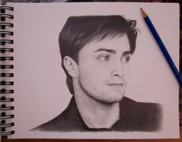 Daniel Radcliffe by whiskers-on-kittens