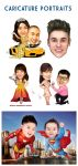 CARICATURE COMPILATION 1 by JonathanChanutomo