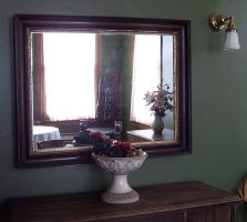 Mirror with Chair by reznor70-stock